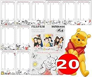 Fujifilm Instax Mini Pooh 30 Film for Fuji 7s 8 25 50s 90 300 Instant Camera, Share SP-1