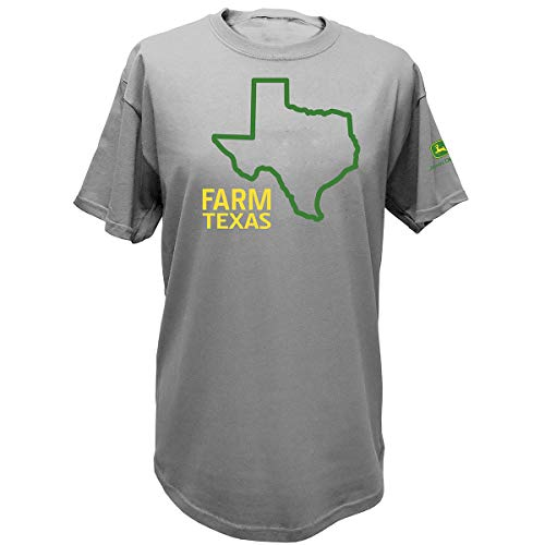 John Deere State Pride Farm Ss Tee, Texas, -