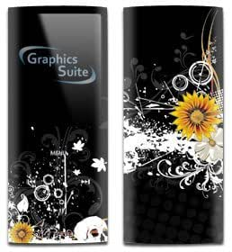 Sunflower Ink Skin for Apple iPod Nano 4th Generation
