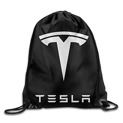 Bro-Custom Simple Tesla Motors Men Bags Storage Size Size Key White.