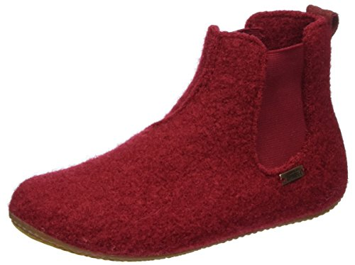 Living Kitzbühel Boots Chelsea, Zapatillas de estar Por Casa Unisex Niños Rot (Rubin)