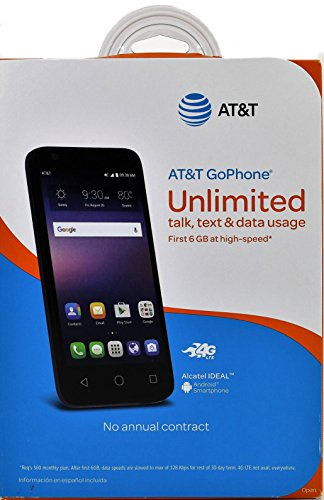GoPhone Alcatel Ideal Android Smartphone