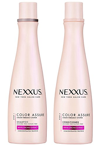 Nexxus Shampoo Color Assure White Orchid Extract 13.5 Ounce