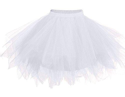 Women's Vintage Petticoat Skirt