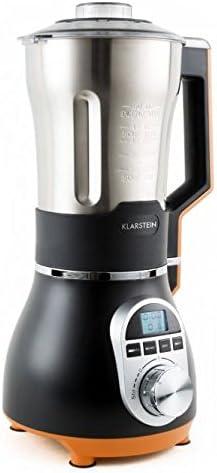 Klarstein 10027585 Batidora de vaso 1.75L 450W Negro, Naranja ...
