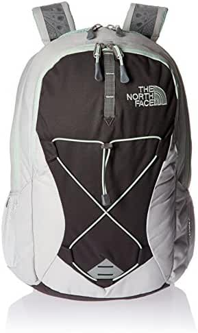 The North Face Womens Jester Backpack,Lunar Ice Grey/Subtle Green,US