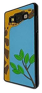 412 - Cute Giraffe Face Design For Samsung Galaxy Ace 4 Fashion Trend CASE Back COVER Plastic&Thin Metal