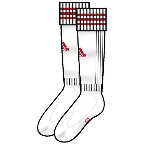 adidas Adisock Socke Stutzen 34-36 Weiss-rot