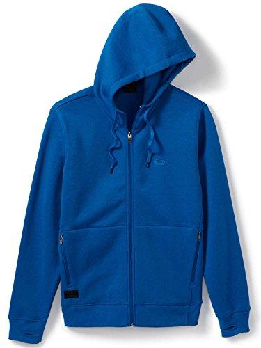 Oakley Men's Protection Full Zip, Skydiver Blue, - Jacket Full Oakley