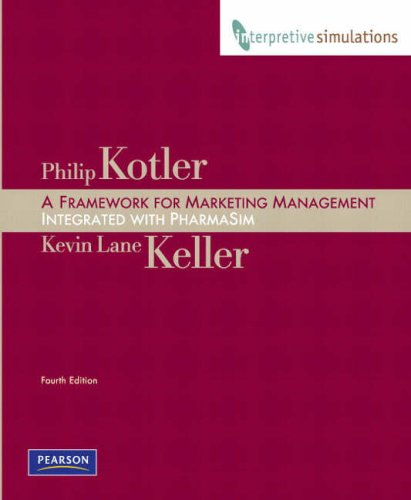 Framework for Marketing Management: Integrated PharmaSim Simulation Experience (4th Edition)
