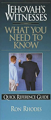Jehovah's Witnesses: What You Need to Know (Quick Reference Guides)