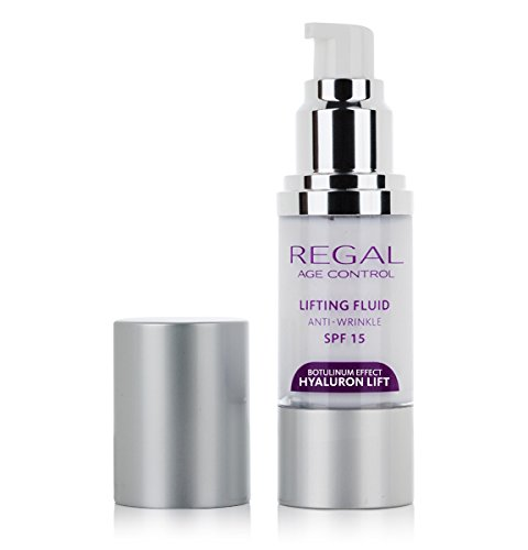 Regal Age Control Anti Wrinkle Lifting Fluid with Hyaluronic Acid and Argireline SPF15 A great way to fight wrinkles