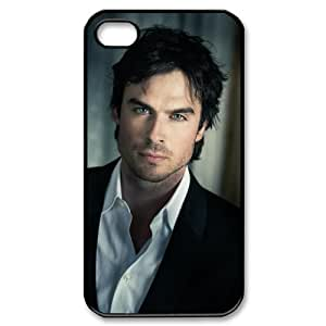 The Vampire Diaries Ian Somerhalder For Iphone 4/4s Plastic Case Cover New Design A03
