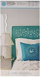 Martha Stewart Crafts Large Stencils (8.75 by 16.75-Inch), 32264 Tendrils (3 Sheets with 10 Designs)
