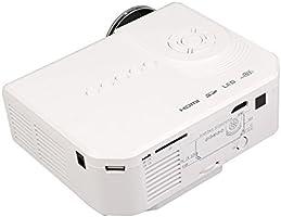 Flylinktech - HD M3 Mini proyector de vídeo portátil Proyector de ...