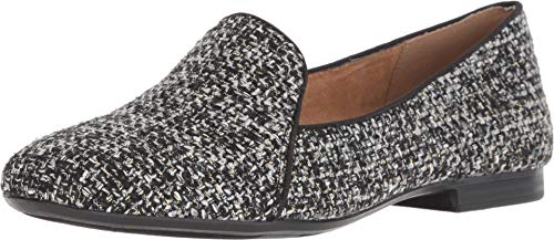 (Naturalizer Women's Emiline Black/White Metallic Tweed 10 M)
