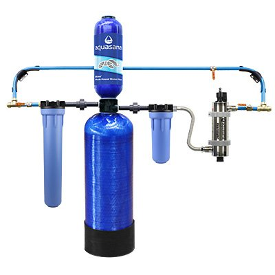 Rhino Whole House Well Water Filter with UV Pro Aq