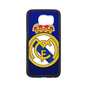 Real Madrid CF For Samsung Galaxy S6 Case Cell phone Case Ohwm Plastic Durable Cover