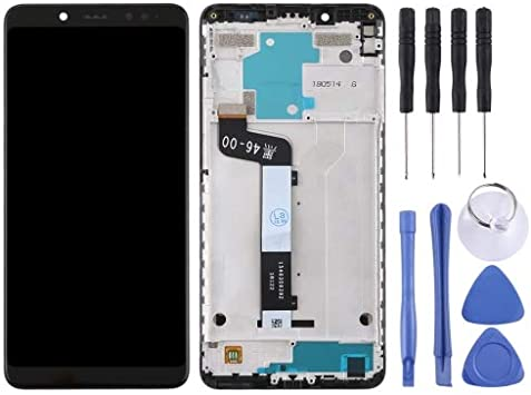 alsatek Repuesto Pantalla Completa con chasis para Xiaomi Redmi Note 5 Negro: Amazon.es: Electrónica