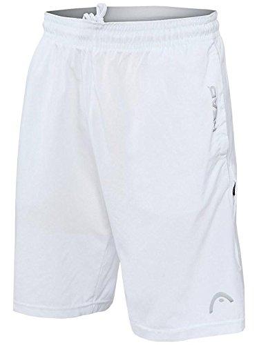 Head Men's Break Point Short, BLACK, Medium (Shorts Tennis Mens)