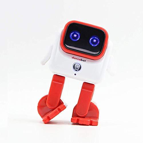 Novelty Bluetooth Dancing Robot Speaker 5W Wireless Portable Speaker Robot for Kids/Adults - Dancing Kids Echeers Toys Robot