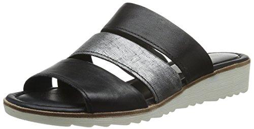 27100 096 Femme Sandales Ant Comb Black Bout Marco Ouvert Noir Tozzi ZHqff