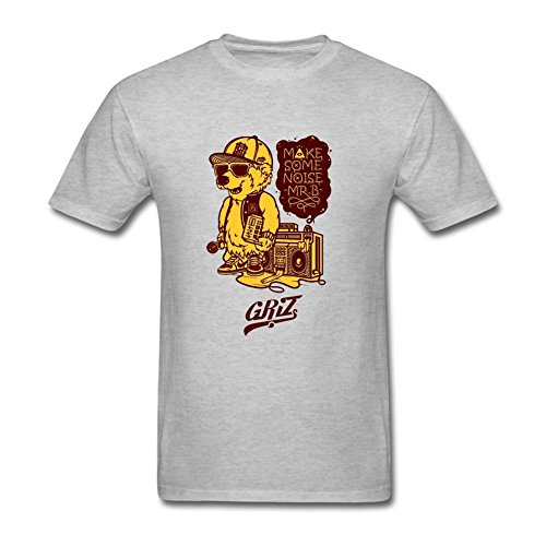 FSFHJSG Mens BUKU MUSIC AND ART PROJECT GRIZ Short Sleeves T shirt