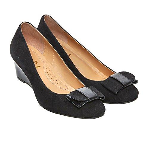 negro Van negro de Dal Sandalias para mujer Piel de vestir rA8rOBwqU
