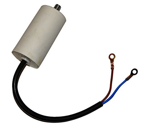 Condensatore permanente di lavoro per motore 3/µF 450V con cavo 10cm C10333 Aerzetix