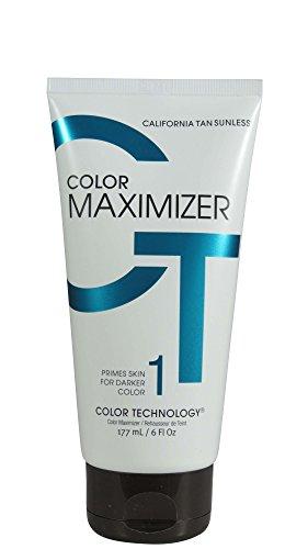 California Tan Color Maximizer Lotion Sunless, 6 (Colour Tan Maximizer)