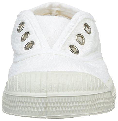 Bensimon Tennis Elly - Primeros Pasos de canvas Bebé - unisex Blanco - Blanc (Blanc 101)