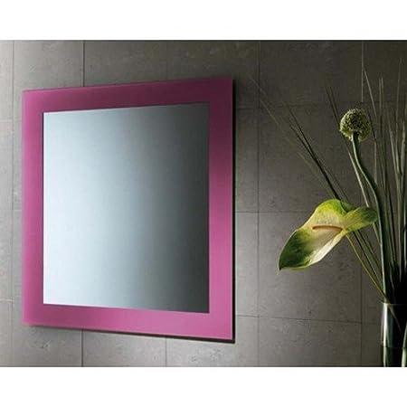 Gedy Miroir avec cadre laqué mod. Maine lilas