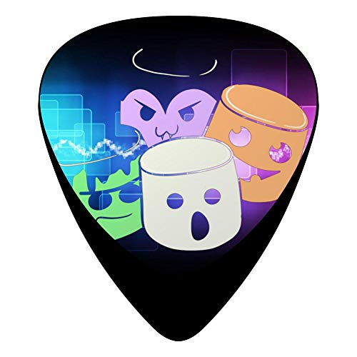 Halloween Buddies Fender Celluloid Guitar Picks Customized 12 Pack Thin Medium Heavy Gauges For Boyfriend