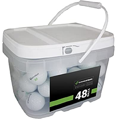 Taylor Made Player Mix 48 Recycled Golf Balls, White