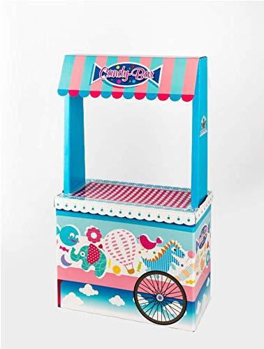 Caramelos La Asturiana Candybar Original y Vistoso Carrito para chuches, 1,22 cm (Alto) x 68 cm (Ancho) x 35 (Profundidad): Amazon.es: Juguetes y juegos