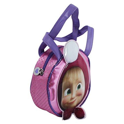Masha y el Oso Bolso de Mano Infantil 3 D