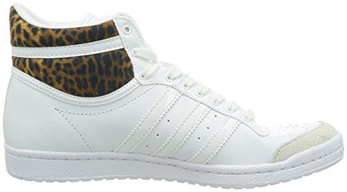 ADIDAS TOP TEN HI SLEEK W Chaussures de sport basket Baskets blanc FEMMES NEUF EcrTy2LowQ