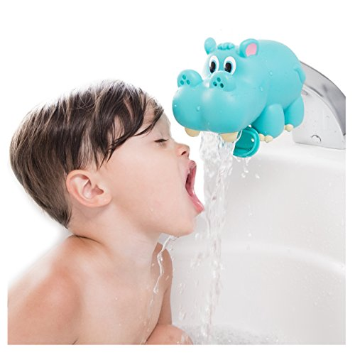 Nuby Hippo Water Spout Guard Blue Bath Tub Faucet Cover Protector Baby Kid Sale Ebay