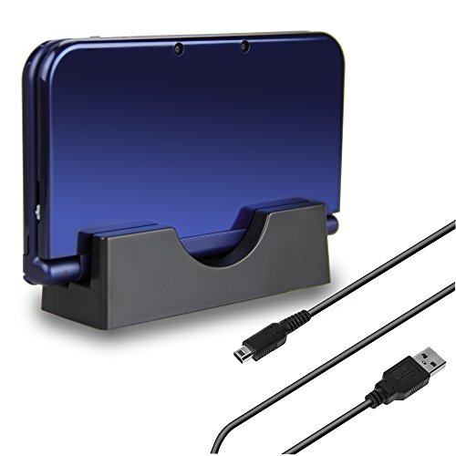 TPFOON USB Charger Charging Dock Station for Nintendo New 3DS, New 3DS XL