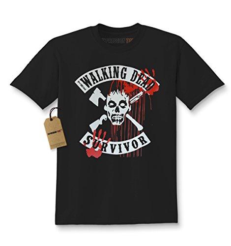Kids The Walking Dead Survivor T-Shirt Large -