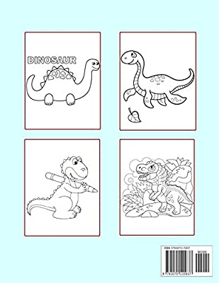 Free Simple Dinosaur Coloring Pages, Download Free Clip Art, Free ... | 400x309