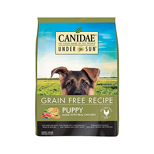CANIDAE Under The Sun Grain Free Puppy Food With Chicken 25lbs