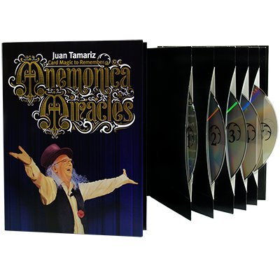 Mnemonica Miracles 5 DVD Box Set by Juan Tamariz by MTS