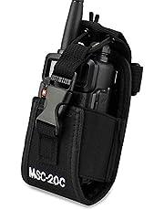 KEESIN multifunctionele tas houder voor GPS-telefoon 2-weg radio walkietalkie holster (20C)