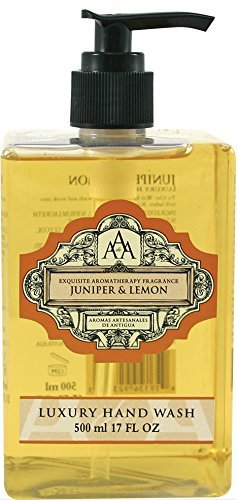 AAA Aroma Juniper & Lemon Hand Wash 500ml by Aromas Artisanales de Antigua