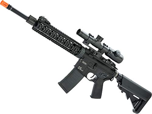 Evike KWA USA Metal RM4 SR-10 AEG3 M4 Carbine Airsoft AEG Rifle