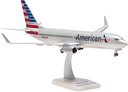 (Hogan HG0748G American Airlines Boeing 737-800 1:200 Scale with Gear & Stand REG#N908NN )