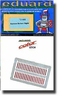 Eduard – 73008 Model Building Accessories Remove Before Flight