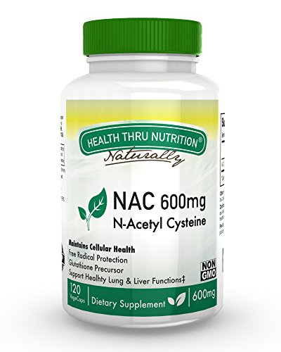 NAC 600mg N Acetyl Cysteine vegecaps