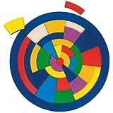 Goki 57849 - inlegpuzzel - cirkel